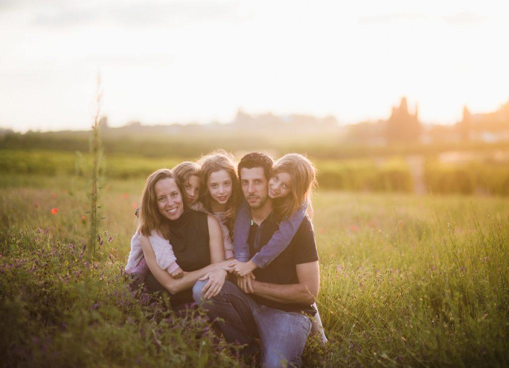 צילומי משפחה בטבע - זוהר סיארה צילום