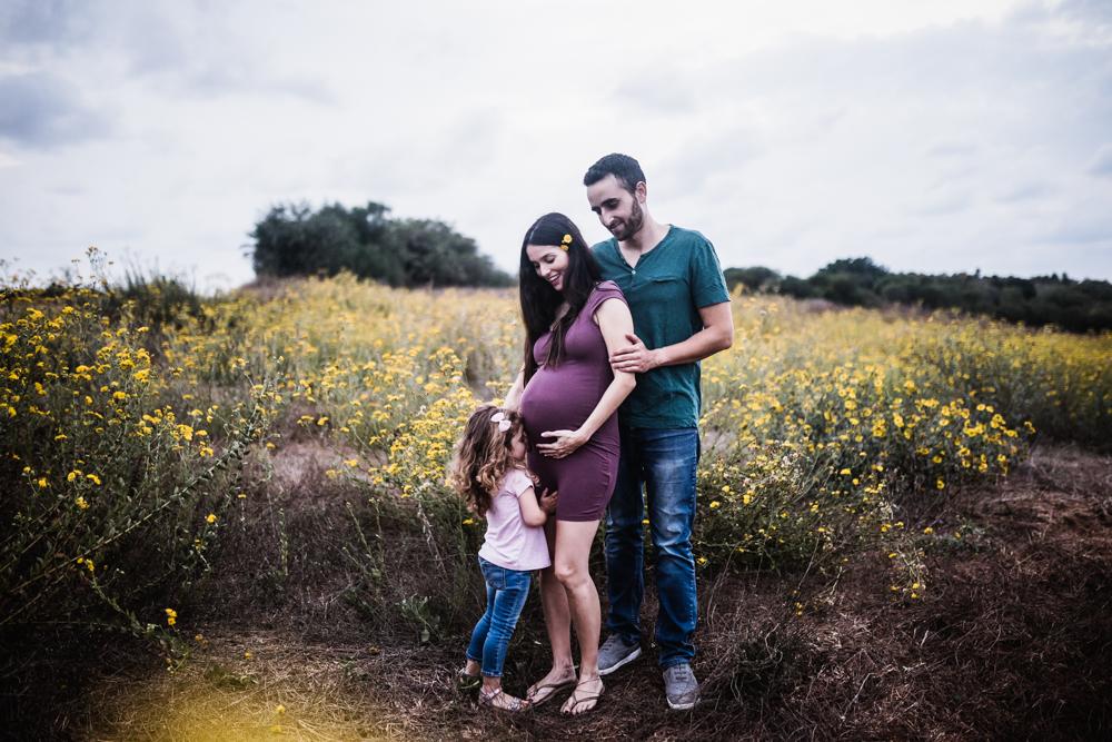 צילומי הריון בטבע - זוהר סיארה צילום